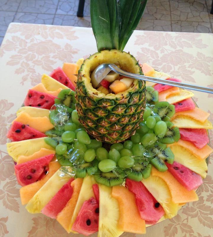 Molto Composizione di frutta estiva | Villa Fiorina - Ristorante GM19